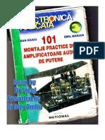 101 Montaje Practice de Amplificatoare Audio de Putere