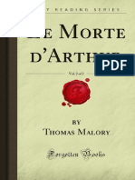 Le Morte dArthur v2