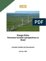 Energia Eólica_Panorama Mundial e Perspectivas no Brasil