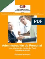 Administración de personal, una visión del norte del Perú - Universidad Santo Toribio de Mogrovej