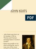 Context Keats and Nature