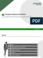 Vertragsverwaltung SharePoint2010