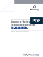 Buenas Practicas Para La Atencion Al Cliente Restaurantes