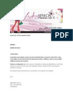 Adry Stylos-Solicitud de Servicios