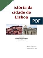 História da cidade de Lisboa