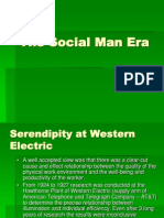 The Social Man Era