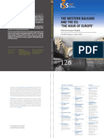 100293100 Institute for Security Studies the Western Balkans and the EU
