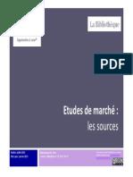 Etudes Marche Bibliotheque Hec