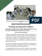 LA AUSENCIA DE LA DIDÁCTICA APLICADA ES EL FRENO DE LA EDUCACIÓN EN MÉXICO