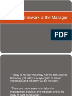 Cultural Framework of the Manager[1]
