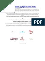 Perbedaan Typeface Dan Font