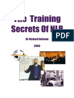 The Training Secrets of NLP 1