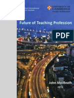 Future Teaching Prof 2012