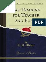 Ear Training for Teacher and Pupil 1000078823