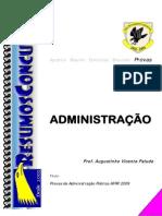 PROVA RESOLVIDA Administracao Publica