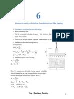 Problems on Foundation Design