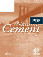 Natural Cement by Michael P. Edison