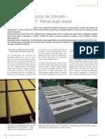 Fabricação de Blocos de Concreto