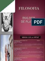 Dialogo de Platon-menon o de La Virtud