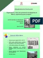 Conferencia Magistral_La Experiencia Mexicana en El Manejo de Desastres_2008