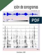 Interpret de Sonogramas