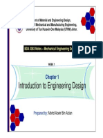 Chapter 1 - Introduction to Engineering Design