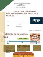 Histologia de La Mucosa Nasal, Funcion Respiratoria y Reflejos Nasales Casi Terminada