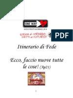 Libretto Itinerario Catechesi Capitolo Nazionale
