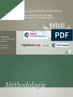 CCI France-Enquête nouveaux métiers industriels_Rapport OW