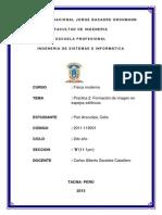 Universidad Nacional Jorge Basadre Grohmann Formacion Espejos Esfericos