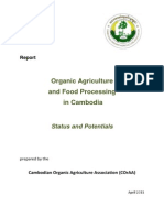 Organic Agriculture and Food Processing in Cambodia