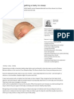 Three Golden Rules of Getting a Baby to Sleep _ Parent Exchange