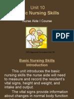 Unit 10 Basic Nursing Skills4620