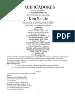 Pacificadores - Ken Sande - Esp