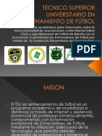 TecnologiaEnEntrenamientoDelFutbol