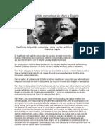 Manifiesto Del Partido Comunista de Marx y Engels