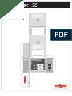 PowerMac G5 Papercraft