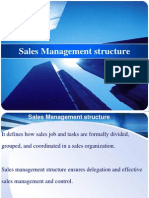 Sales Management Structure
