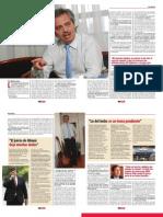Alberto Fernandez, Revista Debate, Nº 289, p. 10 a 14