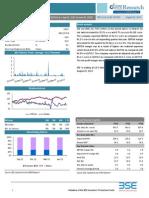 BSE Company Research Update -KSE Ltd