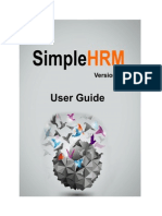 SimpleHRM_UserManual_V2.0