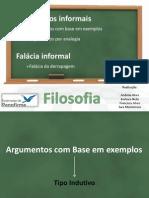 Argumentos informais (1)