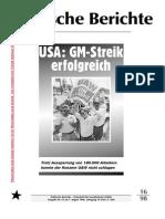 Politische Berichte Nr.16  / 1998
