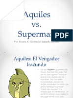 Aquiles vs Superman