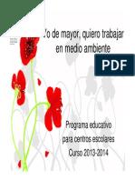 CEMA Venta Mina. Programa