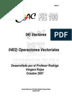 0402 Operaciones Vectoriales