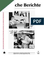 Politische Berichte Nr.9 / 1998