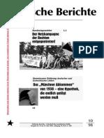 Politische Berichte Nr.10 / 1998