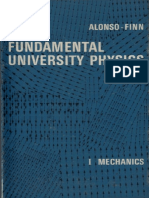 Fundamental University Physics, Volume 1 (Mechanics) - Alonso, Finn