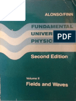 Fundamental University Physics. (second edition), Volume 2 (Fields and Waves) - Alonso, Finn